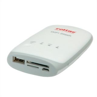 Cititor de carduri Wireless pentru Smartphone/Tableta, Roline 15.08.6256