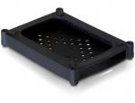 "Carcasa de protectie din silicon pentru HDD 2.5"" neagra, Delock 18178"