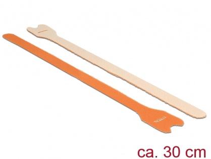 Cureluse cu arici portocalii 300 mm x 12 mm 10buc, Delock 18697