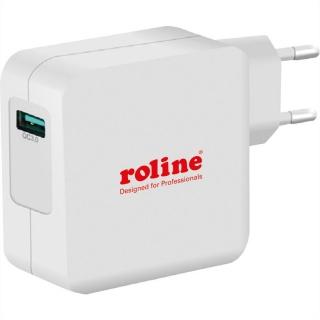 Incarcator priza 1 x USB Quick/Fast Charge 3.0 (incarcare rapida), Roline 19.11.1024