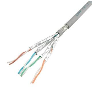 Cablu S-FTP (PiMF) Cat.7, solid, 100m, Roline, 21.15.0001-5