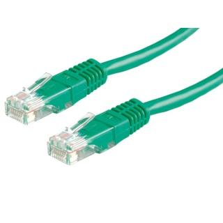 Cablu retea UTP Value Cat.6,verde, 5m, 21.99.1563