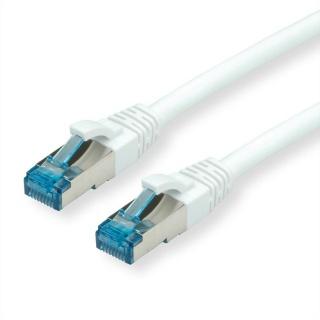 Cablu retea S-FTP cat 6a alb 3m, Value 21.99.1973