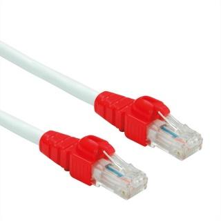 Cablu de retea EASY UTP cat. 6A Alb 0.5m, Roline 21.15.2461