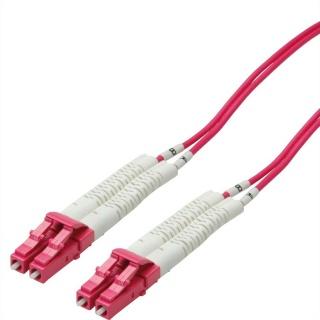 Cablu fibra optica LC-LC OM4 cablu flexibil (unghi) 1m, Value 21.99.8791