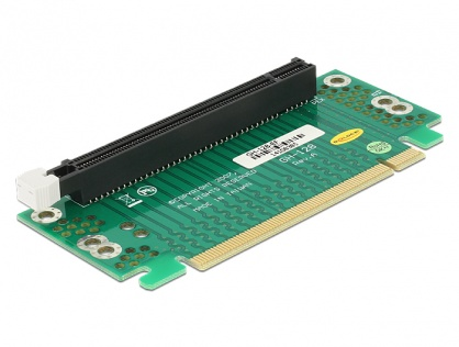 Riser Card PCI Express x16 unghi 90° right insertion pentru HTPC, Delock 41914