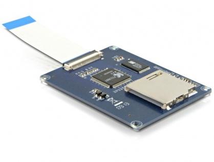 Convertor ZIF la card Secure Digital, Delock 61707