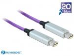 Cablu Thunderbolt 2 optic T-T 30m Mov, Delock 83608