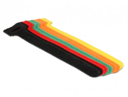 Curele colorate pentru prindere cabluri 150 mm x 12 mm, Delock 18701