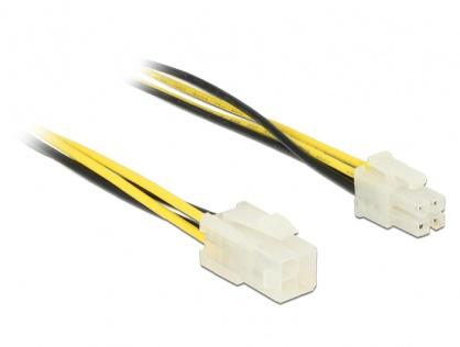 Cablu prelungitor P4 4 pini T-M 30cm, Delock 84954