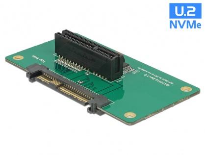 Adaptor U.2 SFF-8639 la PCIe x4 cu fixare, Delock 62863