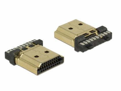 Conector de lipit HDMI-A tata, Delock 65886