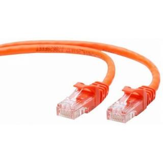 Cablu UTP Cat.5e 0.25m Portocaliu, Gembird PP12-0.25M/O