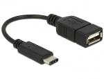 Adaptor USB tip C la USB 2.0-A T-M 15cm, Delock 65579