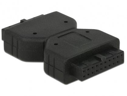 Adaptor USB 3.0 Pin Header M-M, Delock 65679