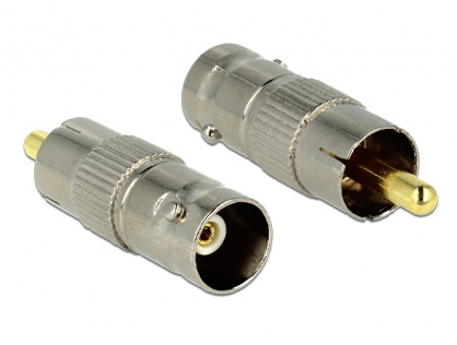 Adaptor Audio RCA la BNC T-M, Delock 84837