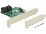 PCI Express Hybrid cu 4 x SATA 6 Gb/s interne RAID, Delock 89395