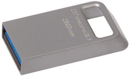 Stick DataTraveler Micro 32GB USB 3.1/3.0, Metal, Kingston