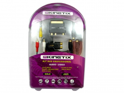 Kit Audio/Video Profesional (Scart, Jack, RCA), KTCBLHE12102