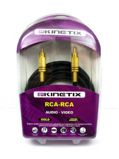 Cablu RCA la RCA T-T 3m, KTCBLHE17004