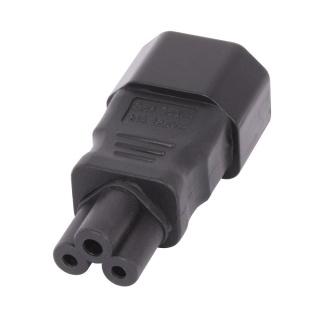 Adaptor IEC C14 3 pini la IEC C5 Mickey Mouse, Lindy L30453