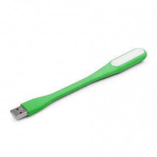 Lampa LED pentru notebook pe USB Verde, Gembird NL-01-G