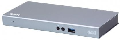 Docking station USB-C la HDMI, Displayport, RJ45 Gigabit, 3 x USB 3.1, 1 x USB-C PD (Power Delivery), ATEN UH3230