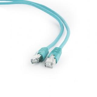 Cablu de retea FTP cat 6 3m verde, Gembird PP6-3M/G