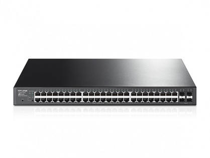 Switch 48-Porturi 10/100/1000Mbps Gigabit Smart Switch with 4 SFP Slots, TP-LINK TL-SG2452P