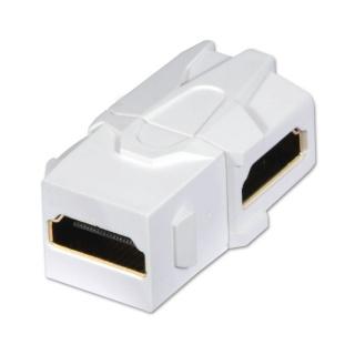 Keystone HDMI in unghi M-M, Lindy L60490