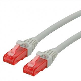 Cablu de retea RJ45 UTP Cat. 6 Component Level LSOH Gri 1.5m, Roline 21.15.2504