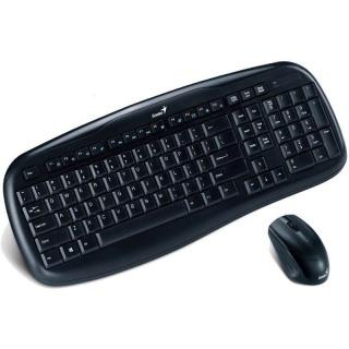 Kit tastatura si mouse wireless KB-8000X, Genius
