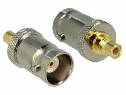 Adaptor SMC jack la BNC jack, Delock 65857