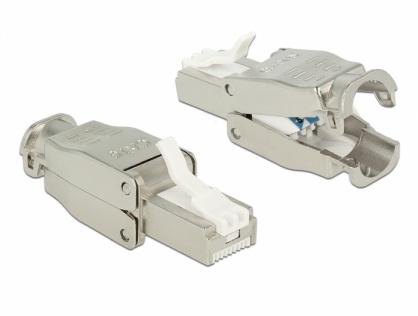 Conector RJ45 Cat.6 pentru fir solid UTP toolfree, Delock 86426