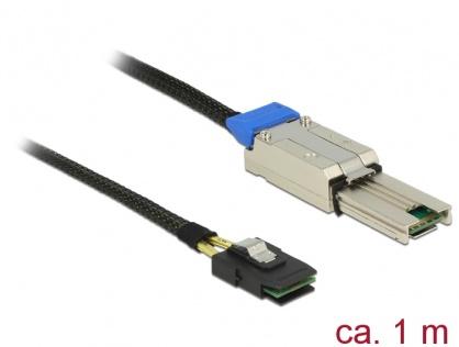 Cablu Mini SAS SFF-8088 la Mini SAS SFF-8087 1m, Delock 83619