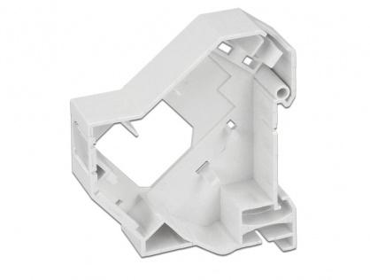 Carcasa Keystone pentru montare DIN rail 180 grade, Delock 86414