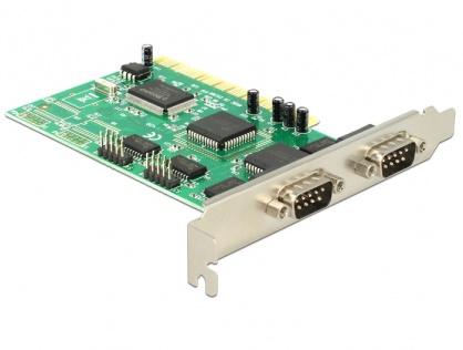 PCI cu 4 x serial RS232, Delock 89046