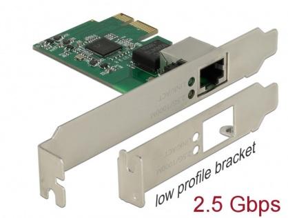 PCI Express cu un port 2.5 Gigabit LAN, Delock 89531