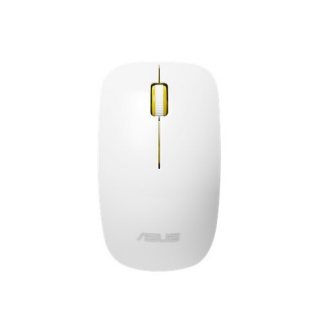 Mouse optic wireless Glossy White-Yellow, ASUS WT300