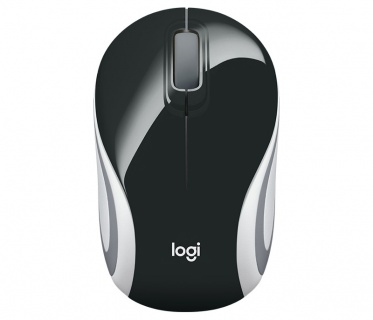 Mouse wireless M187 Alb/Negru, Logitech