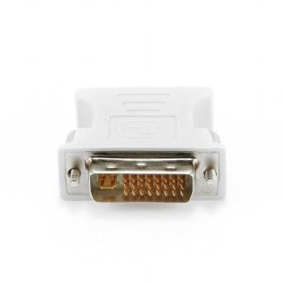 Adaptor DVI-I Dual Link 24+5 pini la VGA T-M, Gembird A-DVI-VGA