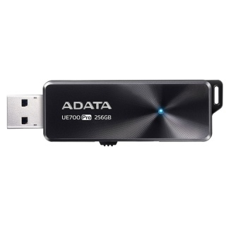 Stick USB 3.1 256GB retractabil Black, ADATA UE700 Pro