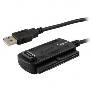 """Adaptor portabil USB 2.0 la HDD SATA/IDE 2.5""""+3.5"""", Gembird AUSI01"""