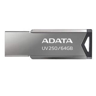 Stick USB 2.0 64GB Aliaj Silver, ADATA