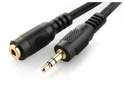 Cablu prelungitor audio jack 3.5mm T-M 5m, Gembird CCA-421S-5M