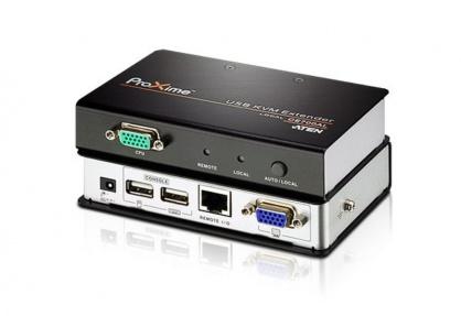 Extender KVM USB VGA Cat 5 maxim 150m, ATEN CE700A