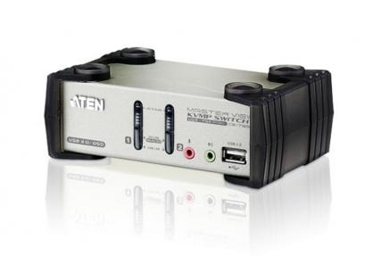 Distribuitor KVMP 2 porturi PS/2-USB cu OSD, ATEN CS1732B