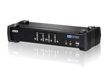 Distribuitor KVM USB DVI 4 porturi, ATEN CS1764A
