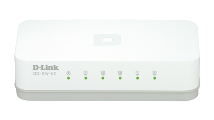 Switch 5 porturi 10/100 Mb/s, D-LINK GO-SW-5E