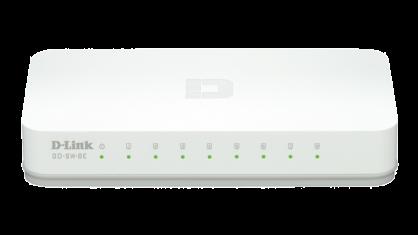 Switch 8 porturi 10/100 Mb/s, D-LINK GO-SW-8E